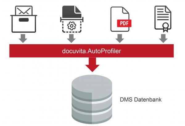 """Docuvita Systemkopplung """"AutoProfiler (1x pro Installation)"""""""